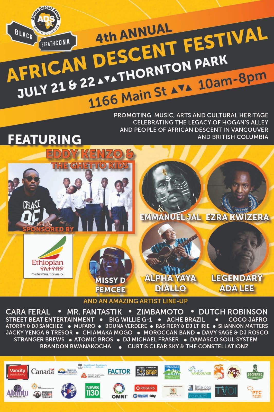 African Culture Vancouver Eddy Kenzo, African  Descent  Festival