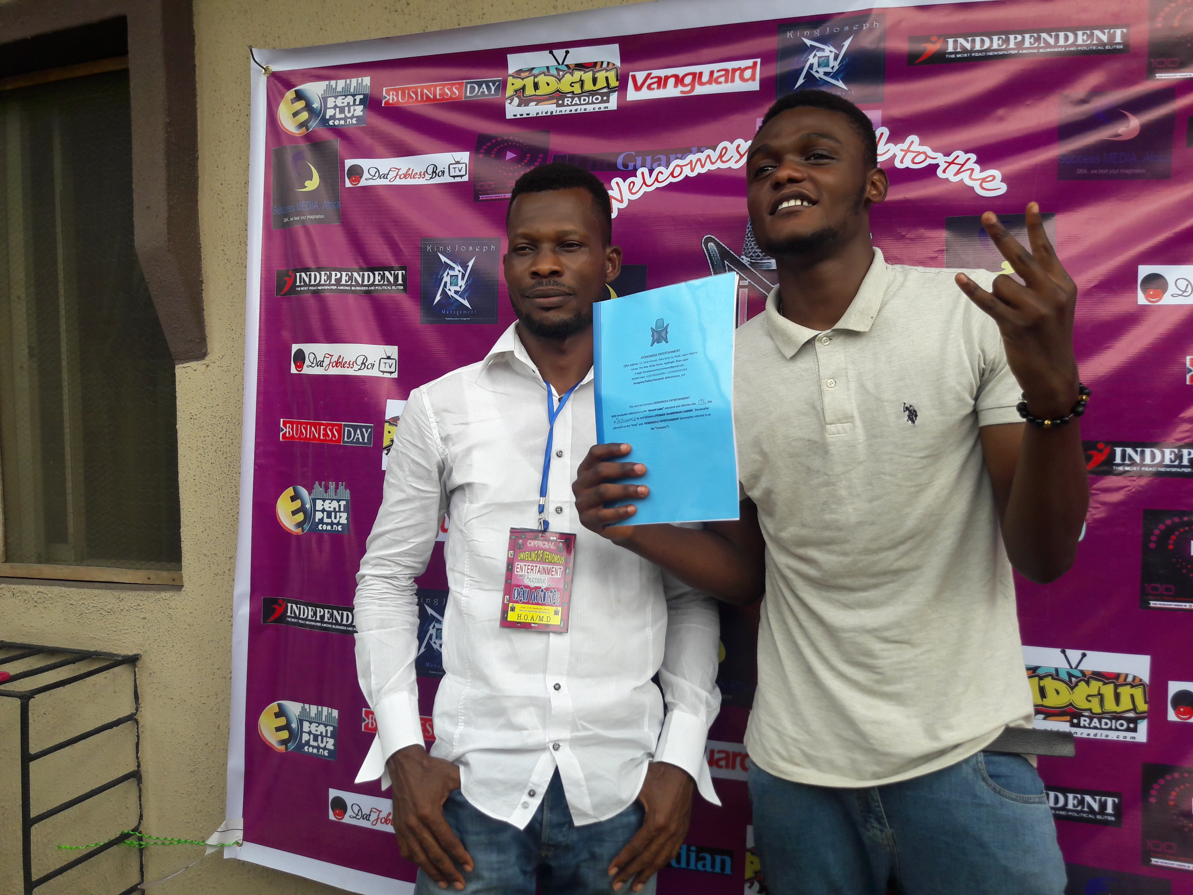 Entertainment, IFENIOMOUS ENTERTAINMENT UNVEILES NEW ARTISTE